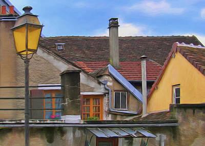 Photograph - Toits De Joigny - Roofs Of Joigny by Nikolyn McDonald