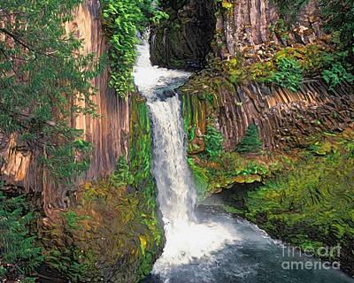 Toketee Falls Original