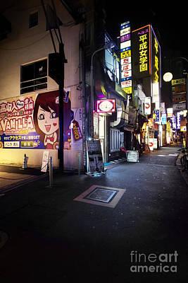 Photograph - Tokyo Alley by Ben Johnson