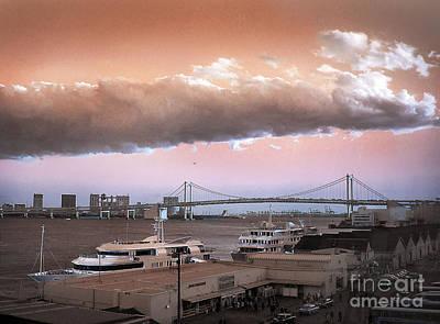 Photograph - Tokyo Bay by Eena Bo