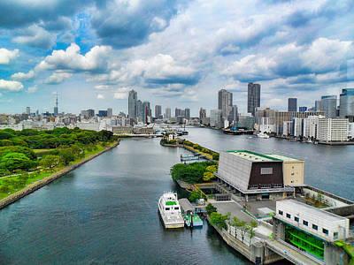 Photograph - Tokyo Bay Study 2 by Robert Meyers-Lussier