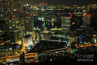 Photograph - Tokyo Cityscape And Bay Area by Benny Marty