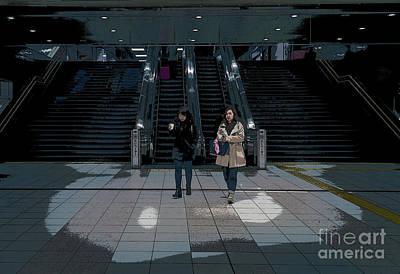Tokyo Metro, Japan Poster Art Print