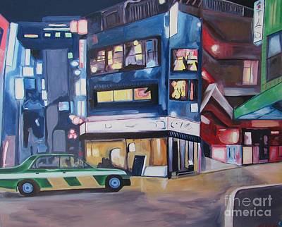 Shibuya Painting - Tokyo Nights by Keith Higgins