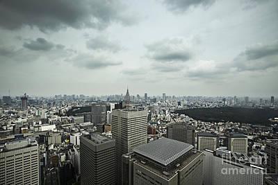 Photograph - Tokyo Skyline by Ben Johnson