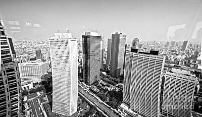Tokyo Skyline Photograph - Tokyo Skyline by Pravine Chester
