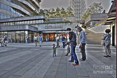 Photograph - Tokyo Solamachi by David Bearden