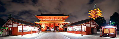 Photograph - Tokyo Temple by Songquan Deng