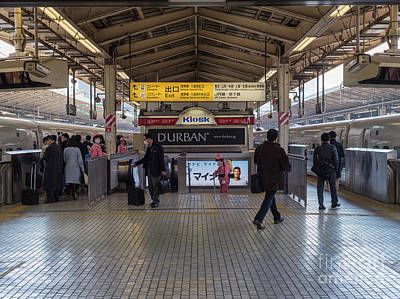 Photograph - Tokyo To Kyoto Bullet Train, Japan 2 by Perry Rodriguez