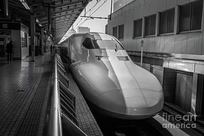 Tokyo To Kyoto Bullet Train, Japan 3 Art Print
