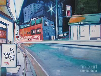 Shibuya Painting - Tokyo Way  by Keith Higgins