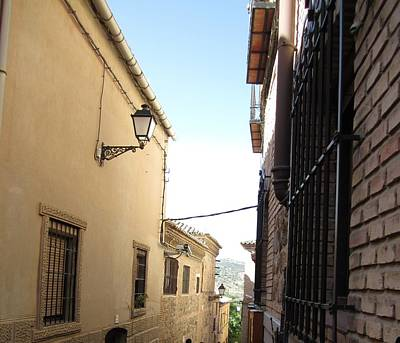 Photograph - Toledo Alley View by John Shiron