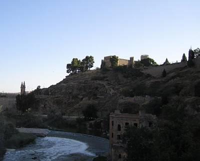 Photograph - Toledo Castle by John Shiron