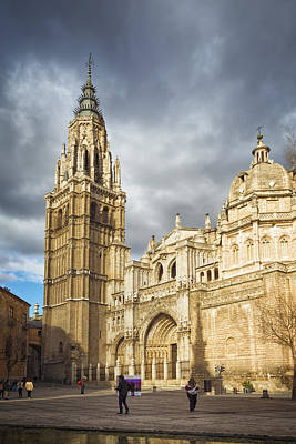 Toledo Photograph - Toledo Cathedral by Joan Carroll