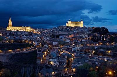 Photograph - Toledo Citadel by Stephen Taylor