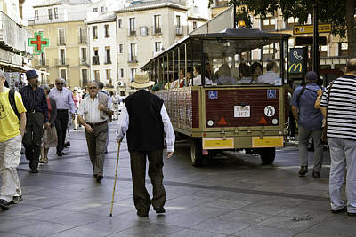Photograph - Toledo Man 2 - Spain by Madeline Ellis