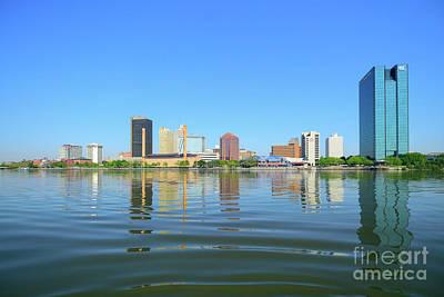 D12u-673 Toledo Ohio Skyline Photo Art Print
