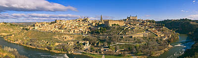 Spanish Landscape Photograph - Toledo Panorama by Joan Carroll