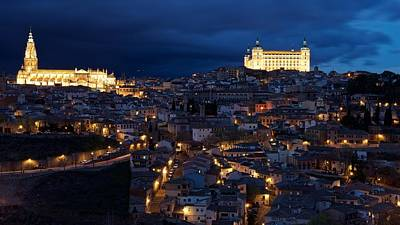 Photograph - Toledo Panorama by Stephen Taylor
