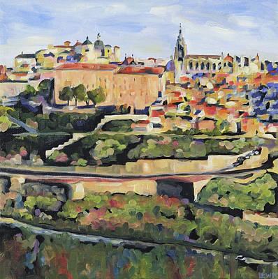 Painting - Toledo Spain by Anne Lewis