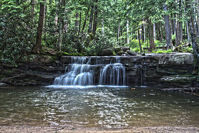 Photograph - Toliver Falls by Daniel Houghton