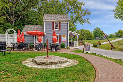 Photograph - Toll House Cafe In Loretto Kentucky  -  Cafe714 by Frank J Benz