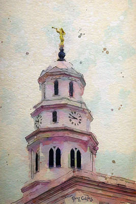 Nauvoo Statue Painting - Tollel Maja by Greg Collins