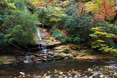 Photograph - Tom Branch Falls In Nc by Jill Lang