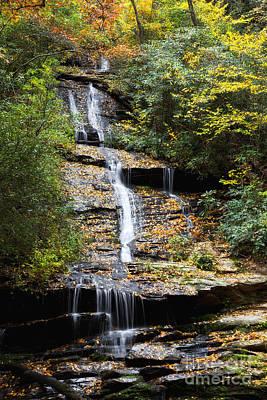 Photograph - Tom Branch Falls In North Carolina by Jill Lang