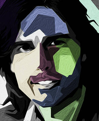 Tom Cruise By Nixo Art Print
