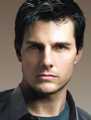 Tom Cruise Art Print by Dominique Amendola
