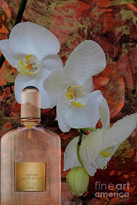 Micheal Digital Art - Tom Ford Orchid Soleil Perfume by To-Tam Gerwe