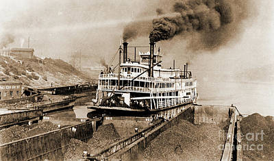 Photograph - Tom Greene River Boat by Gary Wonning