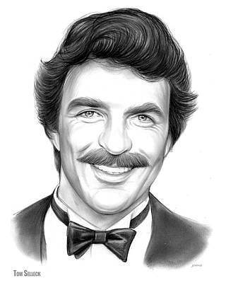 Actors Drawings - Tom by Greg Joens