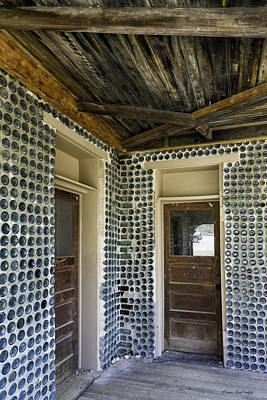 Photograph - Tom Kelly Bottle House by Fran Gallogly