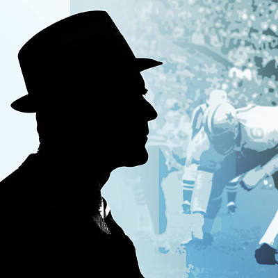Digital Art Rights Managed Images - Tom Landry Royalty-Free Image by Greg Joens