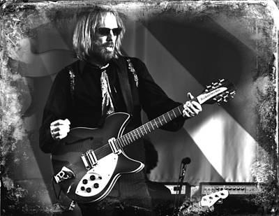 Tom Petty Photograph - Tom Petty 2 by Lucrecia Cuervo