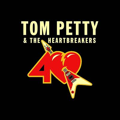 Tom Petty 40th Anniversary Art Print