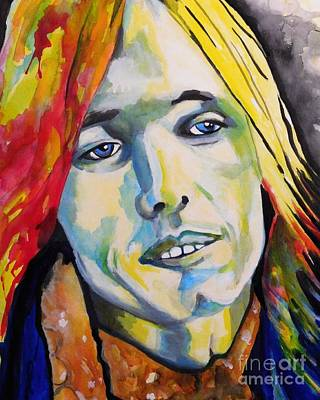 Painting - Tom Petty  by Chrisann Ellis