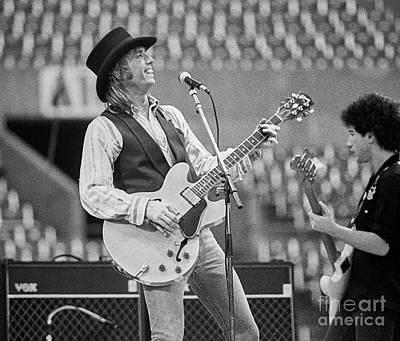 Bob Dylan Photograph - Tom Petty by Chuck Spang