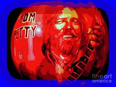 Digital Art - Tom Petty  by Ed Weidman