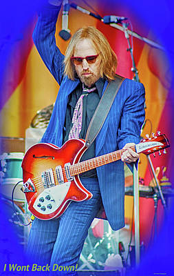 Music Royalty-Free and Rights-Managed Images - Tom Petty, I Wont Back Down by Marc Malin