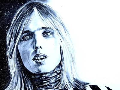 Painting - Tom Petty by Joel Tesch