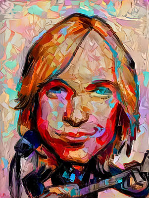 Painting - Tom Petty by Paul Van Scott