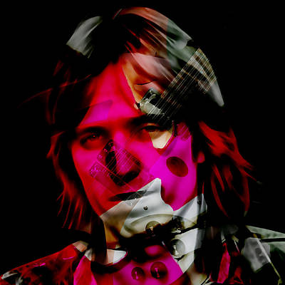 Mixed Media - Tom Petty Rock And Roll by Marvin Blaine