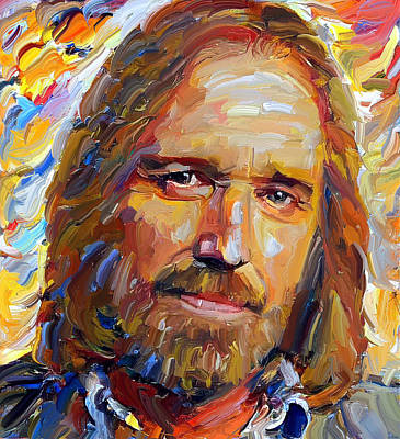 Rural Digital Art - Tom Petty Tribute Portrait 1 by Yury Malkov