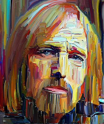 Digital Art - Tom Petty Tribute Portrait 4 by Yury Malkov
