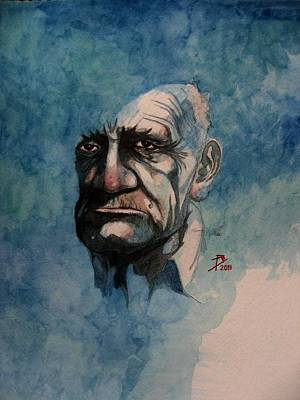 Tom Art Print by Ray Agius