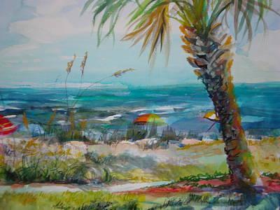 Tom Renick Park Ormond Beach Florida Art Print by Marilyn Masters