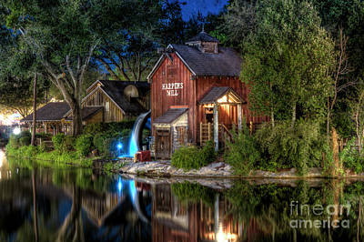 Photograph - Tom Sawyers Harper's Mill by Luis Garcia